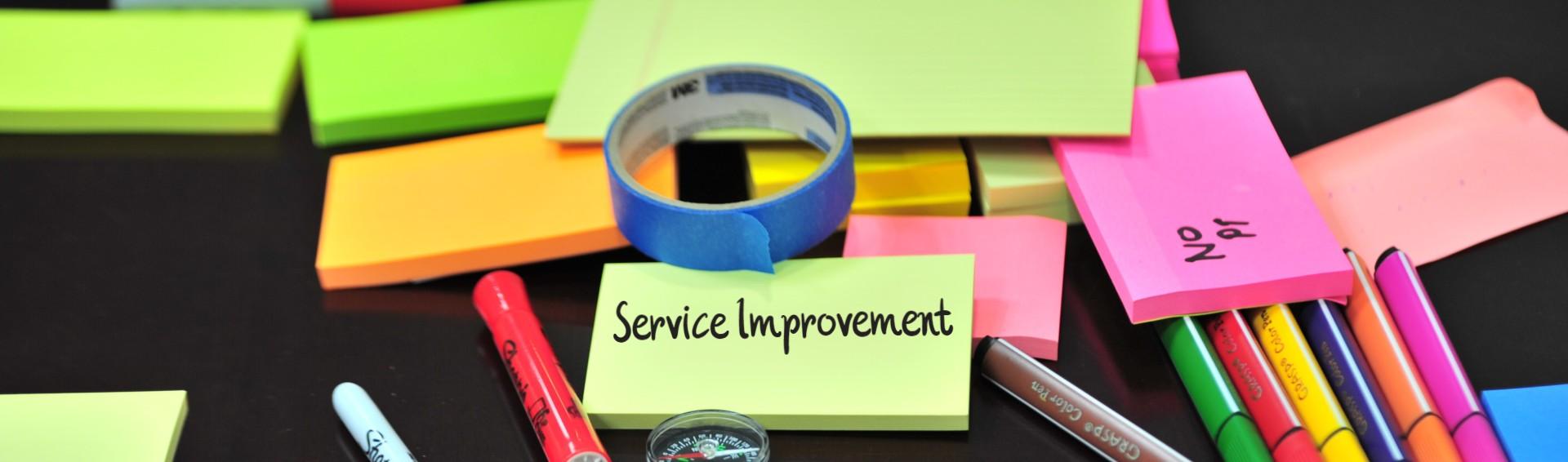 Service Improvement Planning